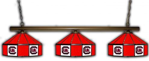 South Carolina Gamecocks 3 Shade Pool Table Light