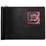 South Carolina Gamecocks Leather Bill Clip Wallet