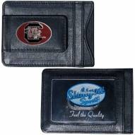 South Carolina Gamecocks Leather Cash & Cardholder