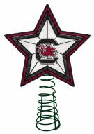 South Carolina Gamecocks Light Up Art Glass Tree Topper