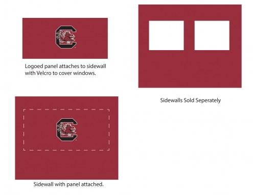 South Carolina Gamecocks Logo Canopy Sidewall Panel (Attaches to Window Sidewall)