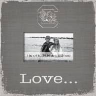 South Carolina Gamecocks Love Picture Frame
