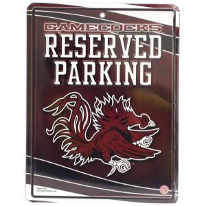 South Carolina Gamecocks Metal Parking Sign