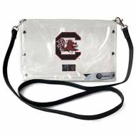 South Carolina Gamecocks Clear Envelope Purse
