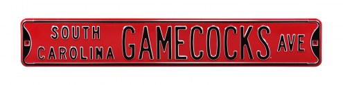 South Carolina Gamecocks NCAA Embossed Street Sign