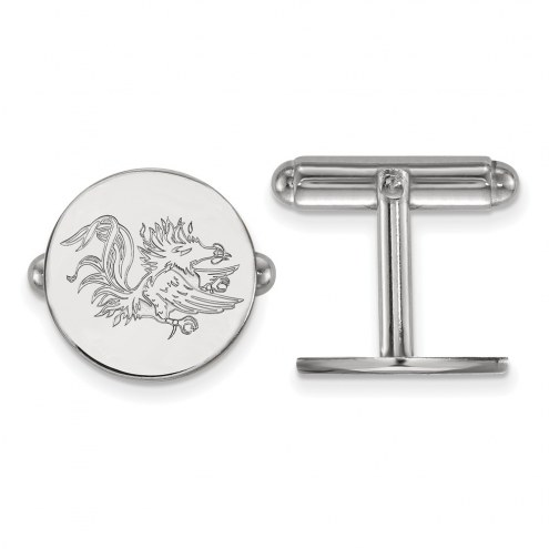 South Carolina Gamecocks Sterling Silver Cuff Links