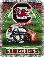 South Carolina Gamecocks NCAA Woven Tapestry Throw Blanket
