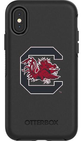 South Carolina Gamecocks OtterBox iPhone X Symmetry Black Case