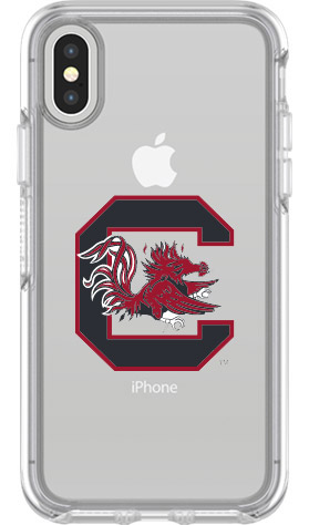 South Carolina Gamecocks OtterBox iPhone X Symmetry Clear Case