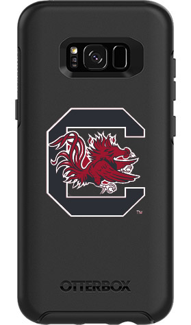 South Carolina Gamecocks OtterBox Samsung Galaxy S8+ Symmetry Black Case