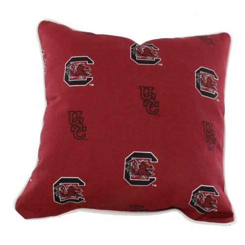 South Carolina Gamecocks Outdoor Decorative Pillow