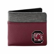 South Carolina Gamecocks Pebble Bi-Fold Wallet