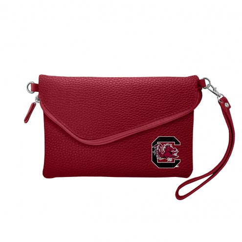 South Carolina Gamecocks Pebble Fold Over Purse