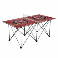 South Carolina Gamecocks Pop Up 6' Ping Pong Table