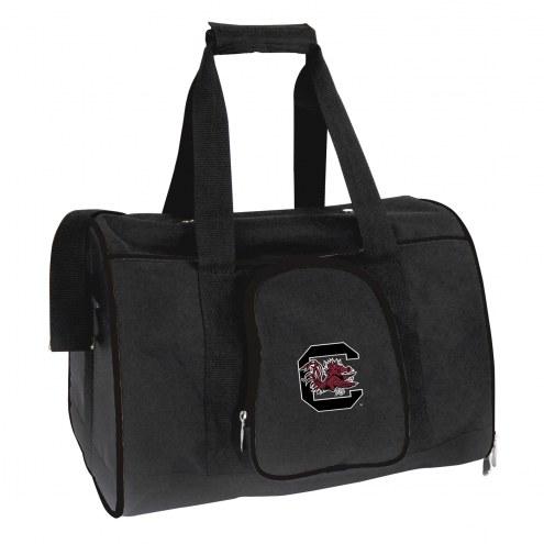 South Carolina Gamecocks Premium Pet Carrier Bag