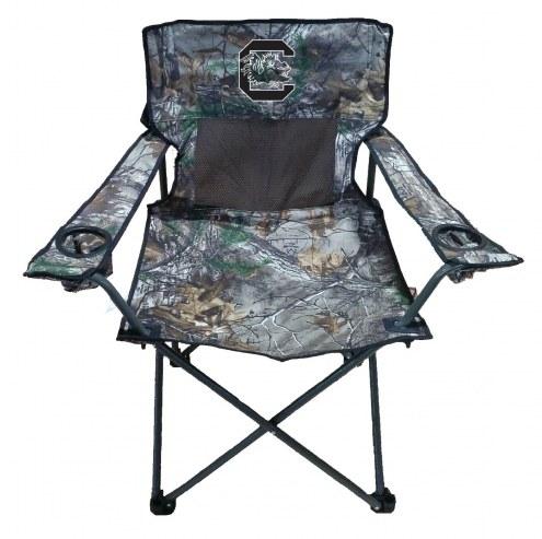 South Carolina Gamecocks RealTree Camo Tailgating Chair
