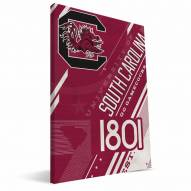 South Carolina Gamecocks Retro Canvas Print