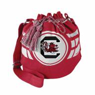 South Carolina Gamecocks Ripple Drawstring Bucket Bag
