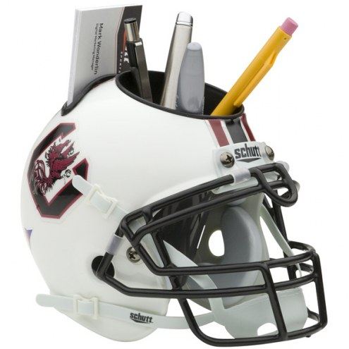 South Carolina Gamecocks Schutt Football Helmet Desk Caddy