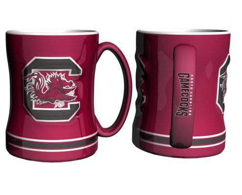 South Carolina Gamecocks Sculpted Relief Coffee Mug