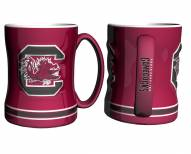South Carolina Gamecocks Sculpted Relief Coffee Mug