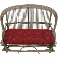 South Carolina Gamecocks Settee Chair Cushion