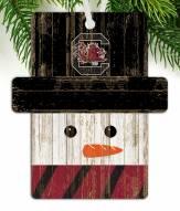 South Carolina Gamecocks Snowman Ornament
