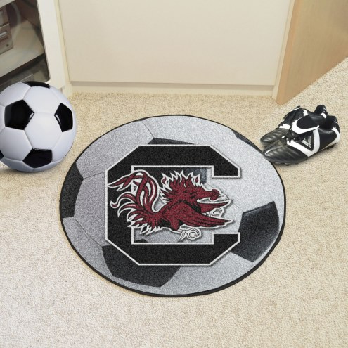 South Carolina Gamecocks Soccer Ball Mat