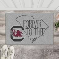 South Carolina Gamecocks Southern Style Starter Rug