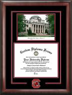 South Carolina Gamecocks Spirit Diploma Frame with Campus Image