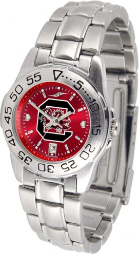 South Carolina Gamecocks Sport Steel AnoChrome Women's Watch