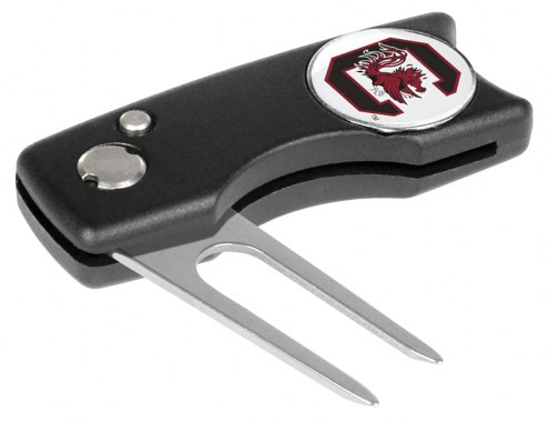 South Carolina Gamecocks Spring Action Golf Divot Tool