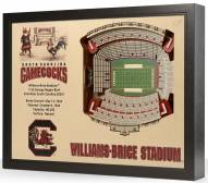 South Carolina Gamecocks 25-Layer StadiumViews 3D Wall Art