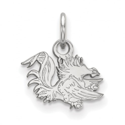 South Carolina Gamecocks Sterling Silver Extra Small Pendant