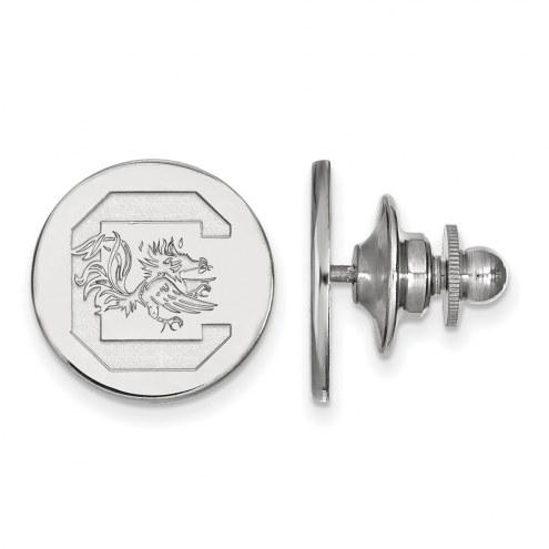 South Carolina Gamecocks Sterling Silver Lapel Pin