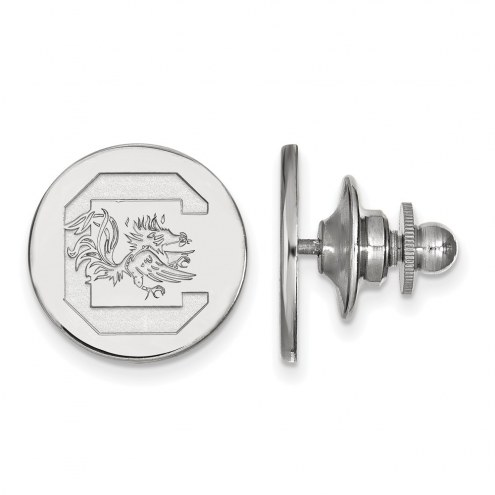 South Carolina Gamecocks Sterling Silver Lapel Pin