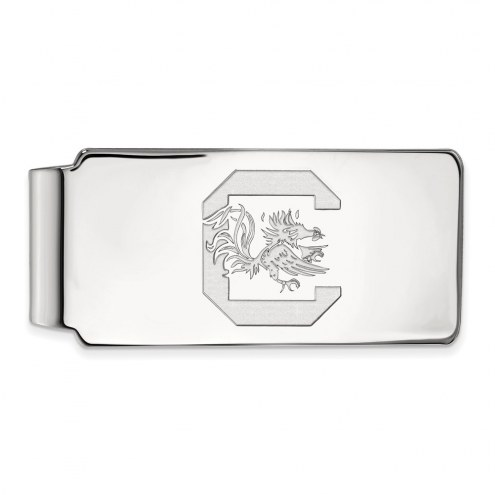 South Carolina Gamecocks Sterling Silver Money Clip