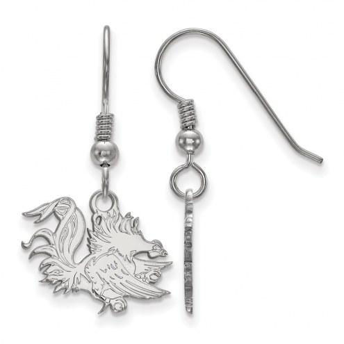 South Carolina Gamecocks Sterling Silver Small Dangle Earrings