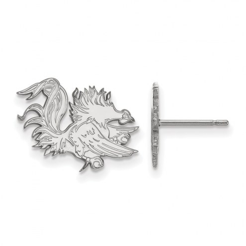 South Carolina Gamecocks Sterling Silver Small Post Earrings