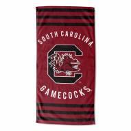 South Carolina Gamecocks Stripes Beach Towel