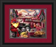 South Carolina Gamecocks Tailgate Framed Print