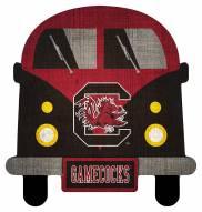 South Carolina Gamecocks Team Bus Sign