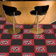 South Carolina Gamecocks Team Carpet Tiles