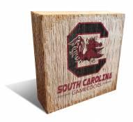 South Carolina Gamecocks Team Logo Block
