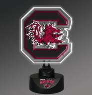 South Carolina Gamecocks Team Logo Neon Lamp