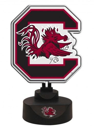 South Carolina Gamecocks Team Logo Neon Light