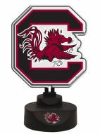 South Carolina Gamecocks Team Logo Neon Light