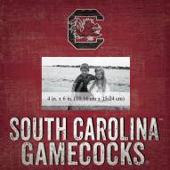"South Carolina Gamecocks Team Name 10"" x 10"" Picture Frame"