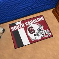 South Carolina Gamecocks Uniform Inspired Starter Rug