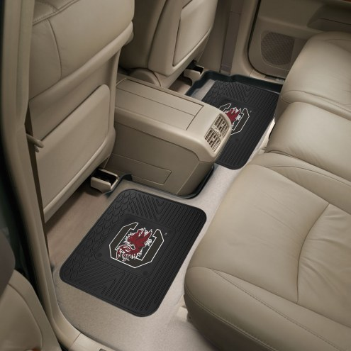South Carolina Gamecocks Vinyl 2-Piece Rear Floor Mats